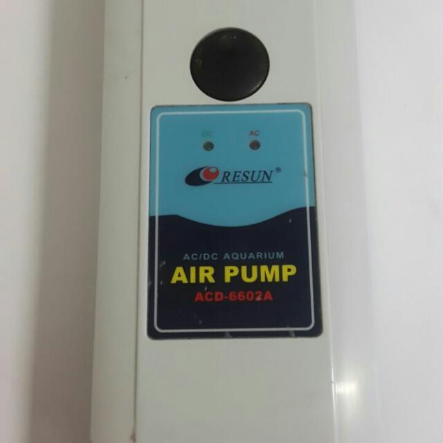 Air Pump Utk Oksigen Ikan
