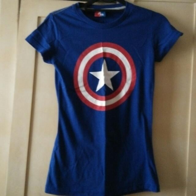 American Boulevard Captain America Tee