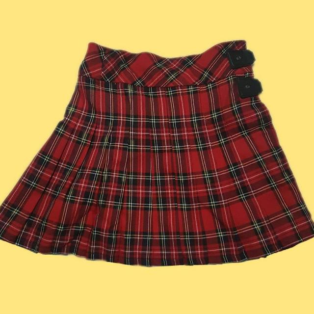 Authentic Plaid Skirt