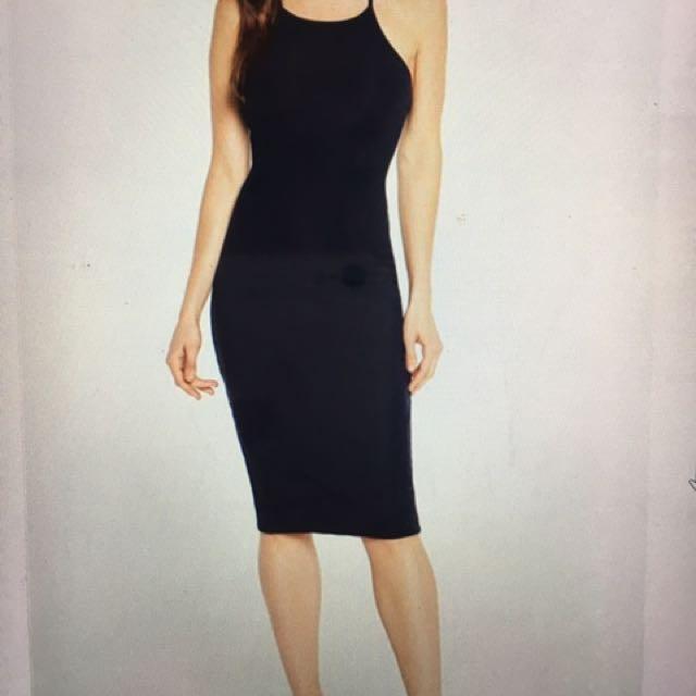 Bardot Lola Lace Dress Navy 6