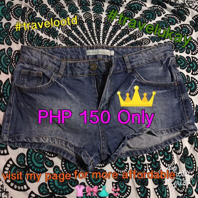 Bershka Maong Shorts