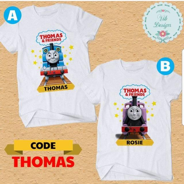 BEST SELLING Thomas The Train Birthday Family T Shirts Baby Romper Group Boy Girl Shirt Babies Kids Boys Apparel On Carousell