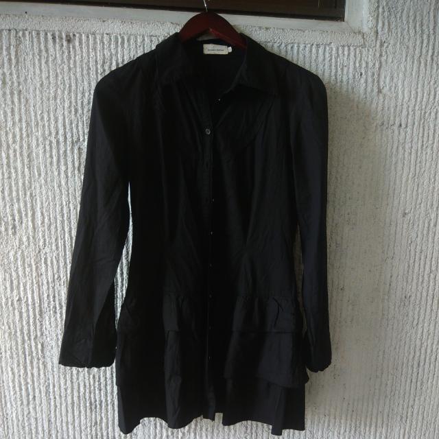 Black Longsleeved Dress