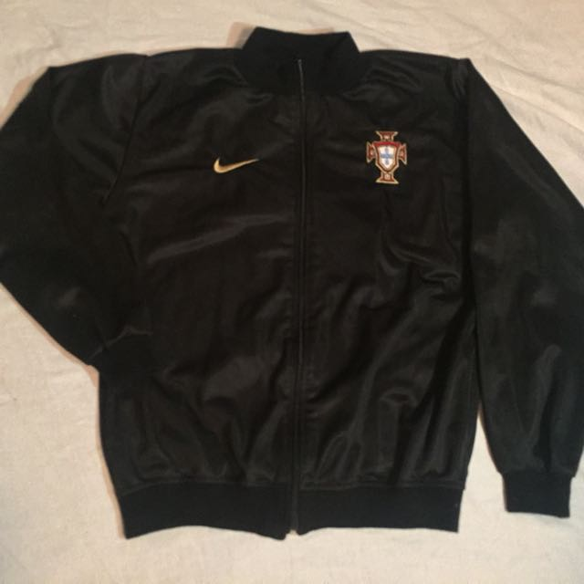Black Nike Portugal Jacket