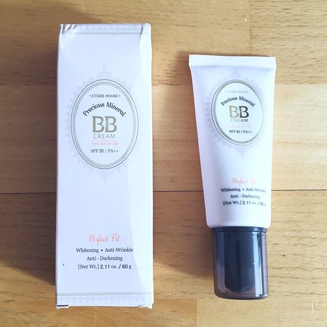 BNIB Étude House Precious Mineral BB Cream in Light Beige N02