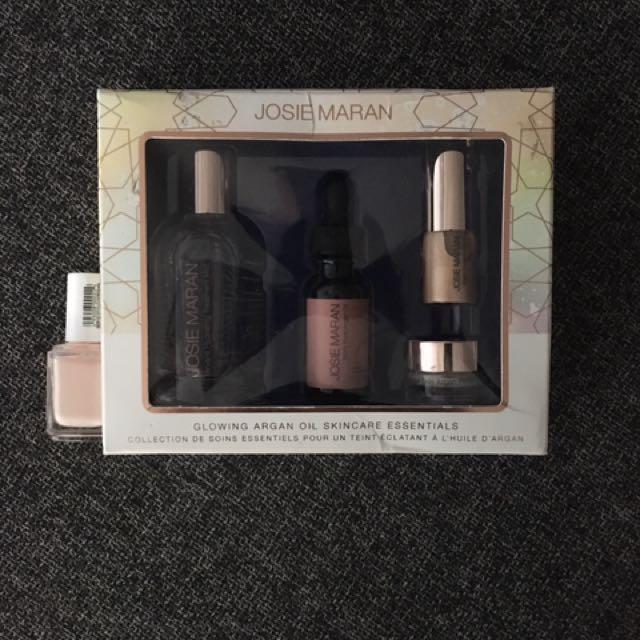 Brand New Josie Maran Glowing Argan Skin Care