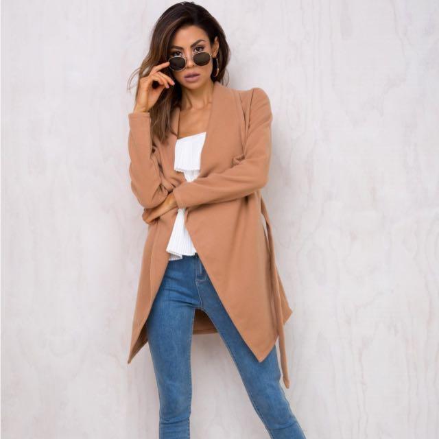 Brown Camel Coat