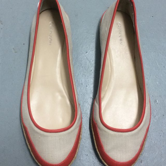 REPRICE Calvin Klein Flat Shoes size 9M (40) - Used But Like New!