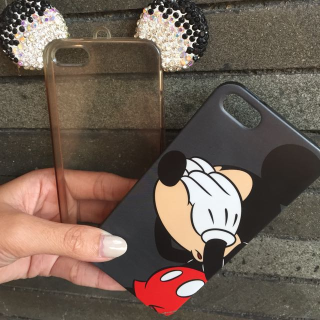 Case Mickey For Iphone 5/5s