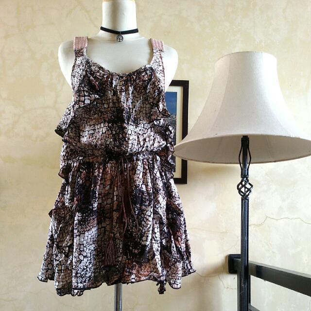 CECISE Brown Dress ➖ Baju Coklat CECISE