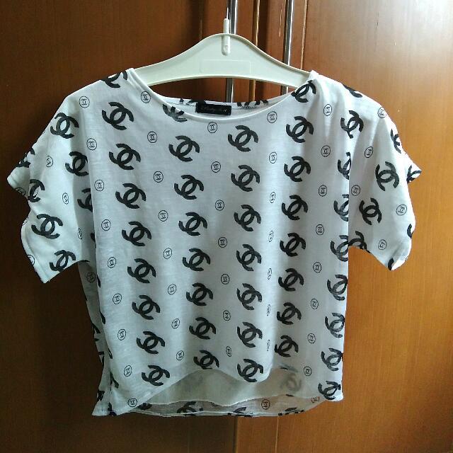 Chanel Crop Top
