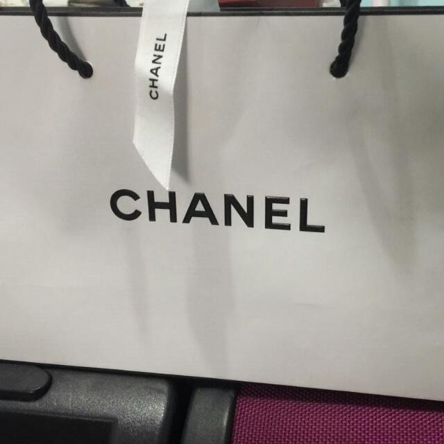 CHANEL Paper bag Authentic