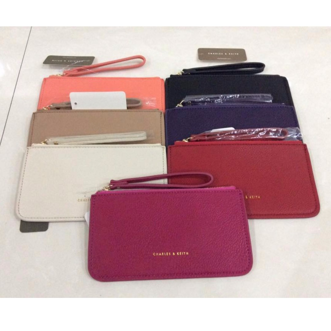 Charles and Keith Long Wallet.