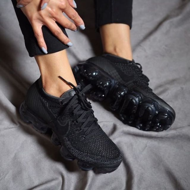 20101f9597bbf CHEAPEST  Nike Air Vapormax Triple Black 2.0