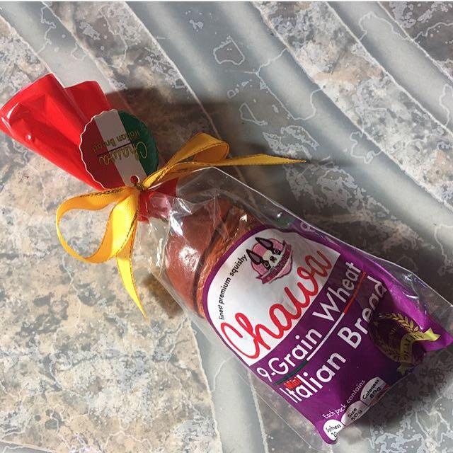Chocolate Mini Chawa Bread Squishy
