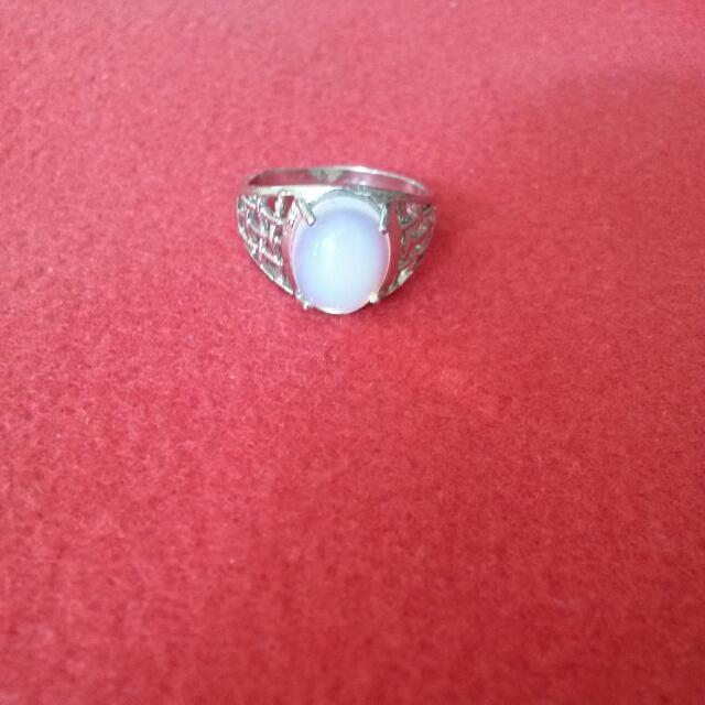 SALE!!!Cincin Batu Putih Kalimaya