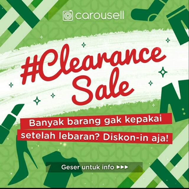 #clearancesale DISC 50%