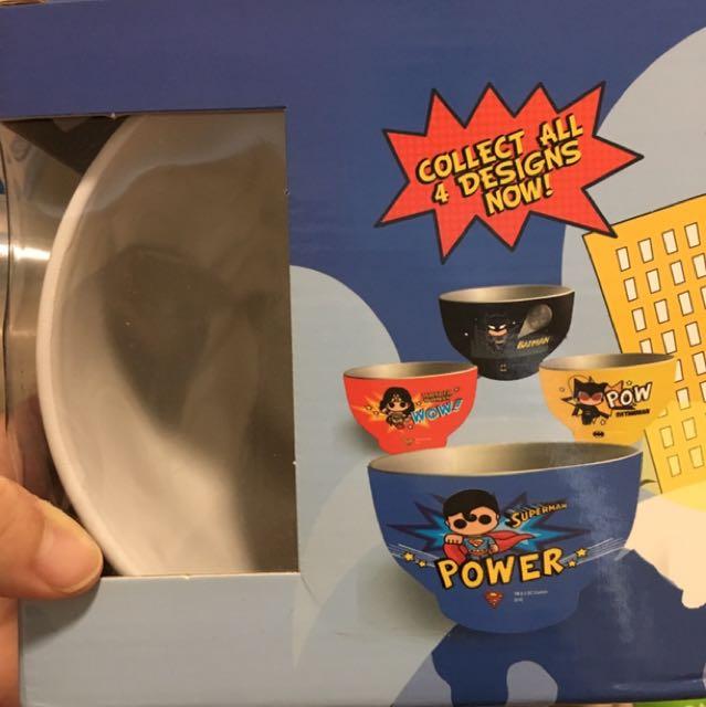 Collectible Superhero Bowl Set