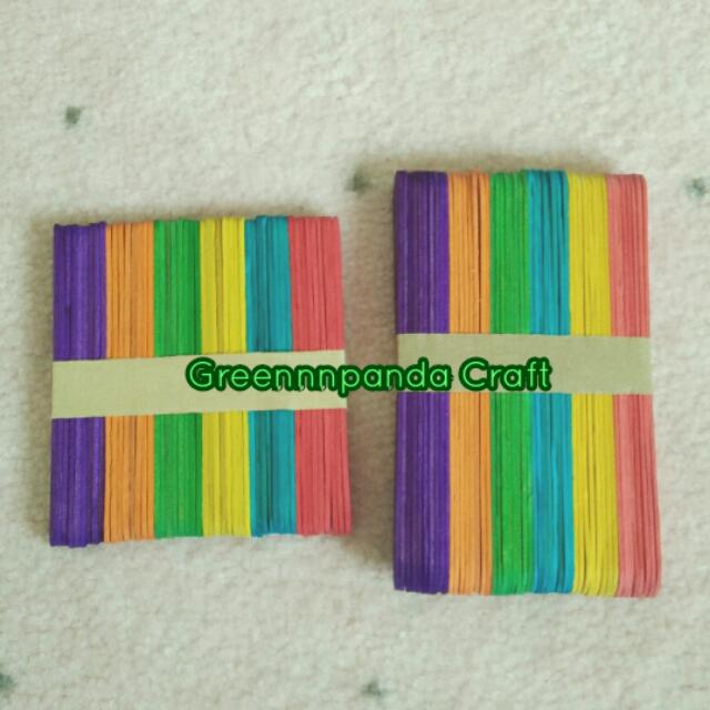 Colourful Wooden Sticks
