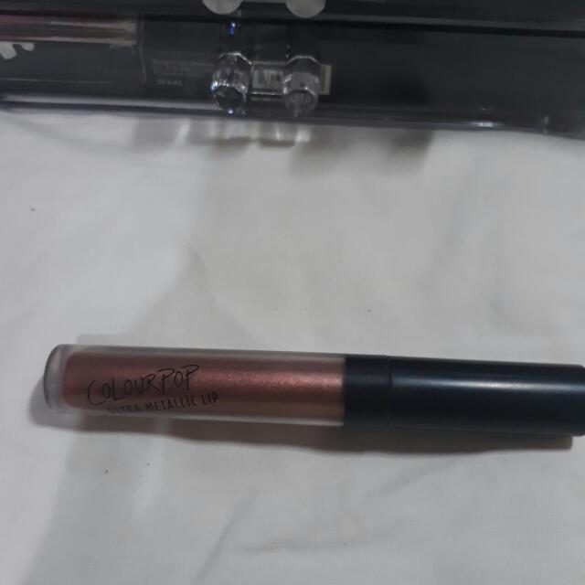 Colourpop Ultra Metallic Lip in Man Eater