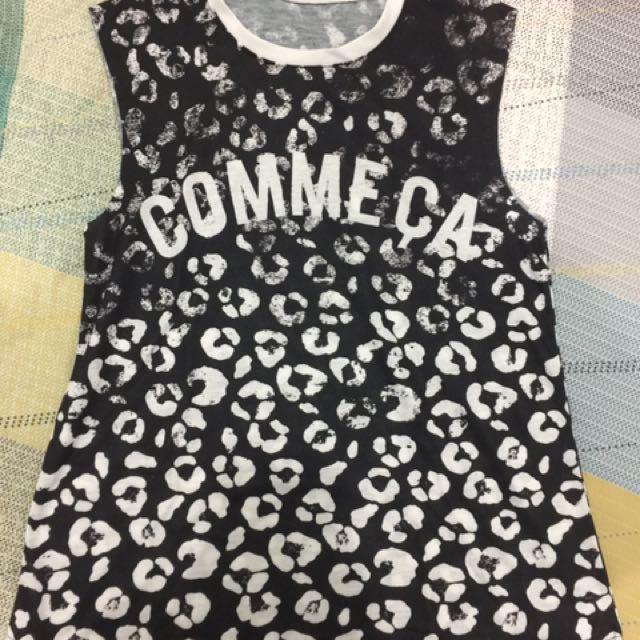 Commeca Shirt (no Sleeve)