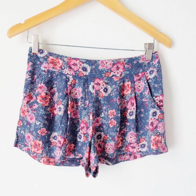 Cotton On Shorts Navy Blue