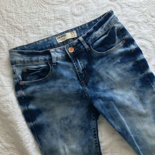Cotton-On Cropped Jeans