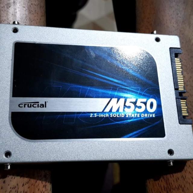 Crucial Ssd 500gb M550