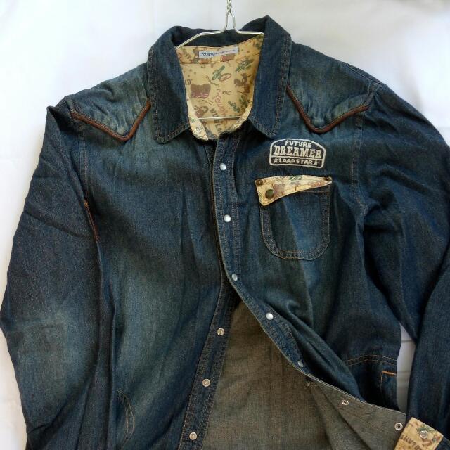 Cute Denim Jacket/Shirt
