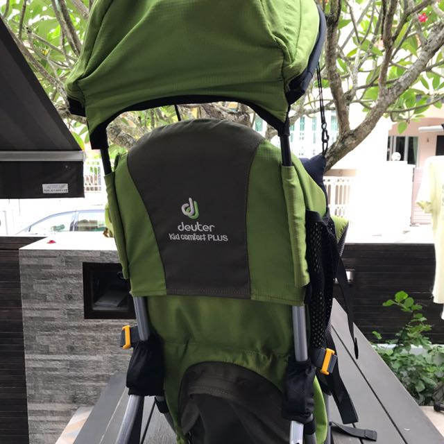 reliable quality popular brand new authentic Deuter Kid Comfort Plus Child Carrier on Carousell