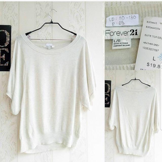 F21 Cotton Knitting