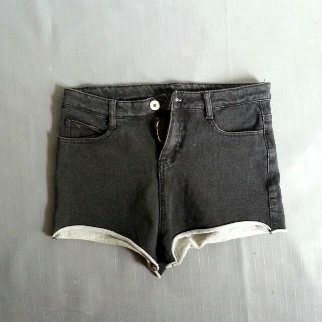 Faded Black Short