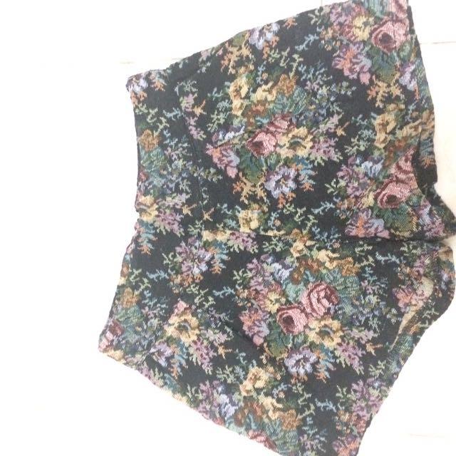 Flowery Pants