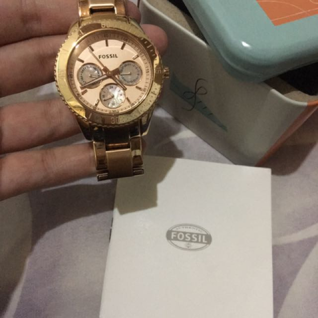 Fossil watch authentic w/ bag jennyfer sling