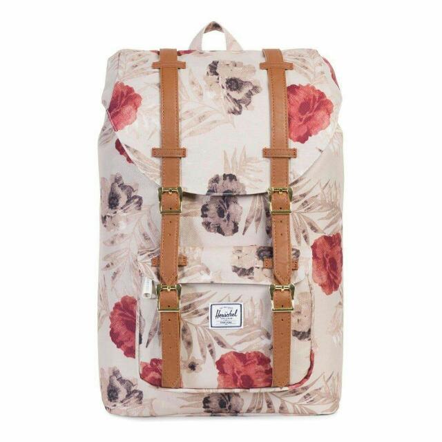 HERSCHEL SUPPLY CO. Little America 23.5L Backpack - Pelican Floria/Tan