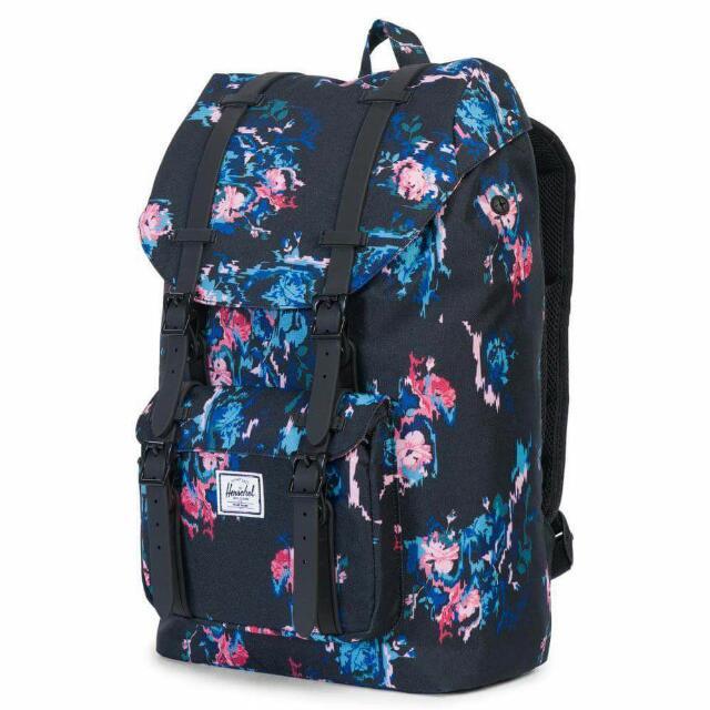 8407d19ab9c HERSCHEL SUPPLY CO. Little America 23.5LBackpack - Floral Blur Black Rubber