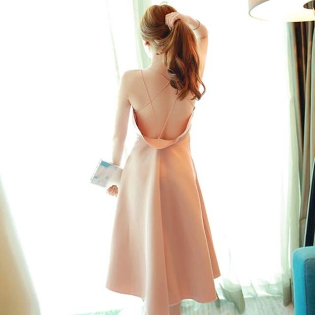High Quality Bareback Dress
