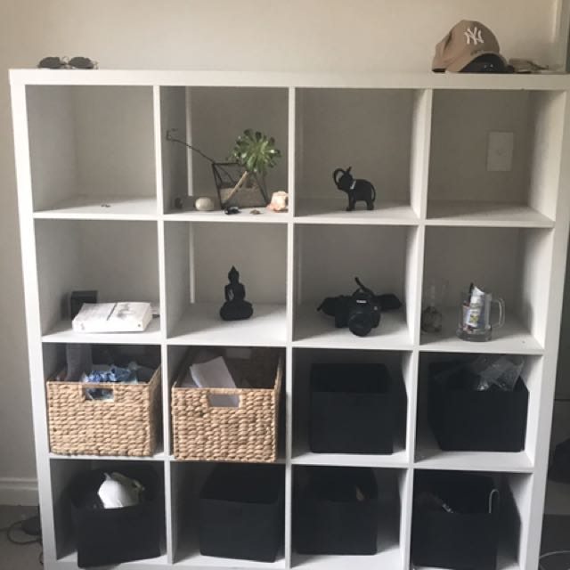 IKEA FURNITURE CUBE // BOX SHELF