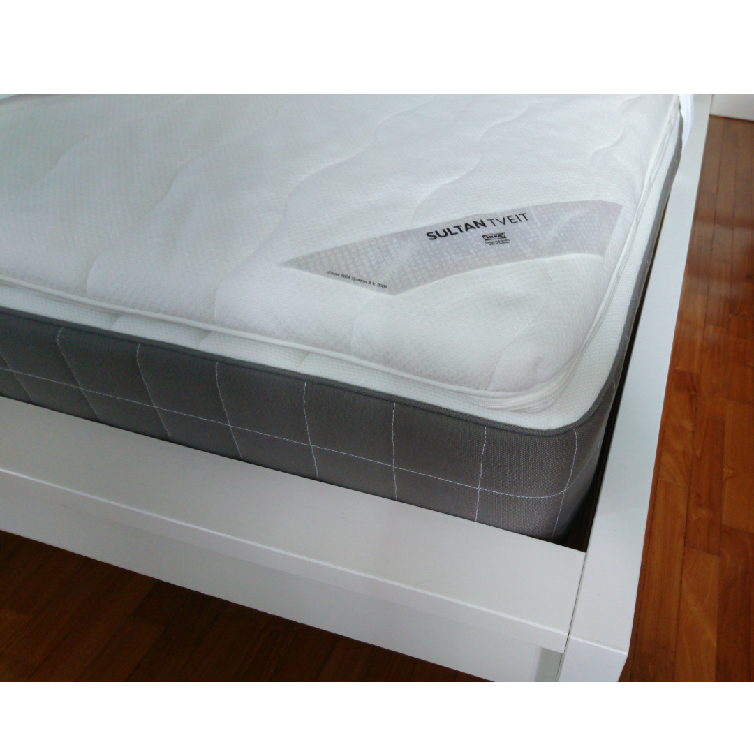ikea hovag top ikea nyvoll bed frame cm x cm king size. Black Bedroom Furniture Sets. Home Design Ideas