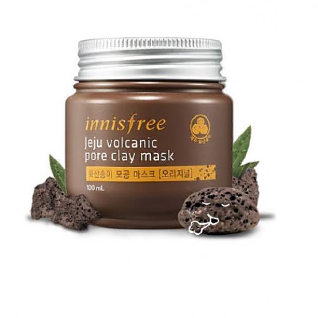 Innisfree Jeju Volcanic Clay Mask