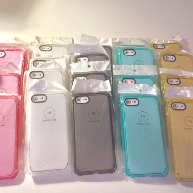 iPhone 7 Silicone Gel Cases