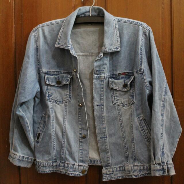 Jacket Jeans Light Blue