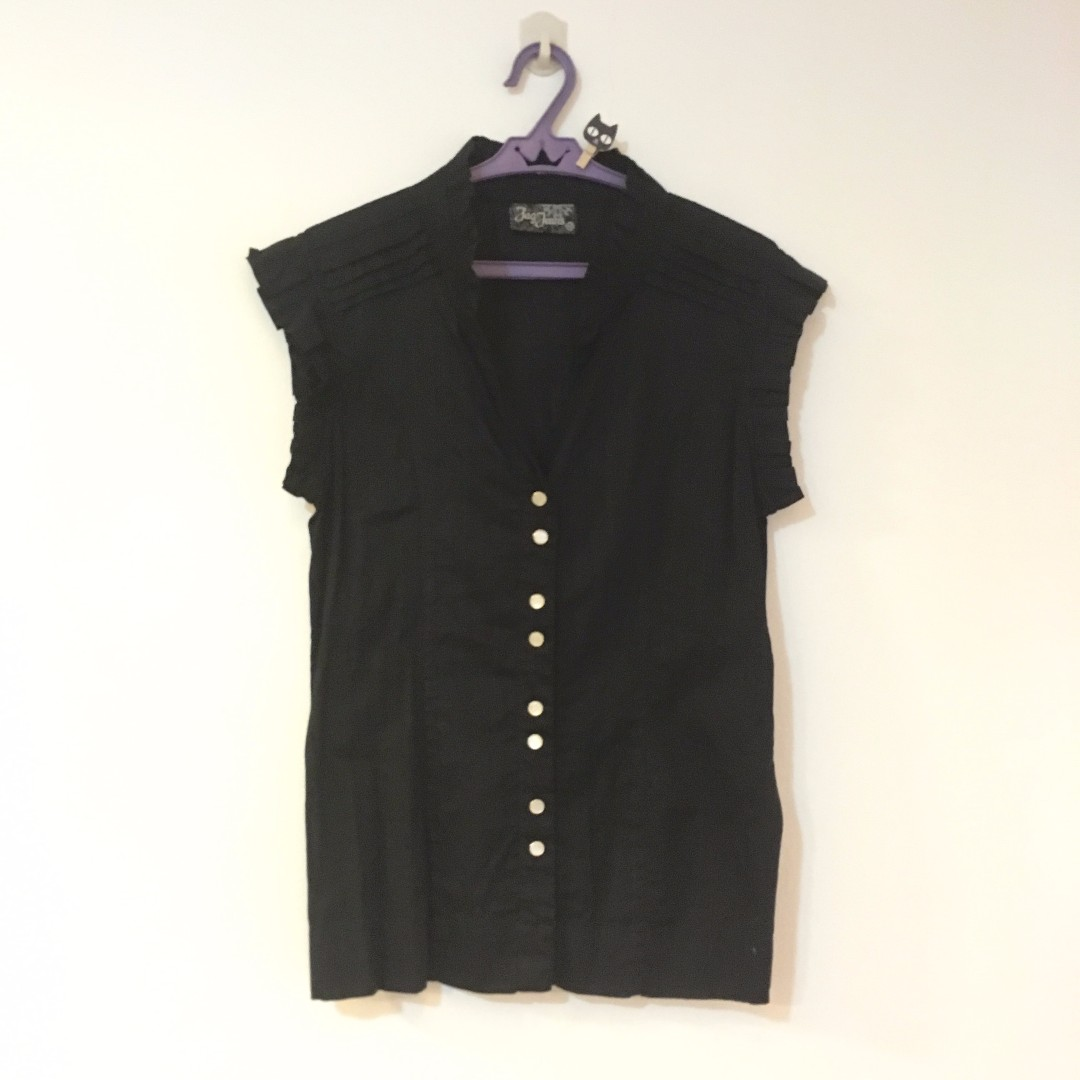 JAG Dressy Button Up Top