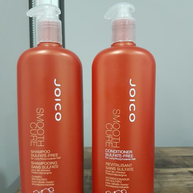 Joico Smooth Cure shampoo And Conditioner