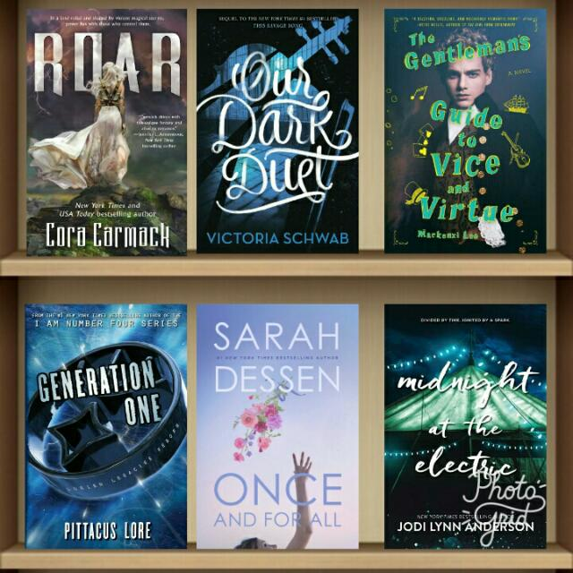 June 2017 YA Ebooks