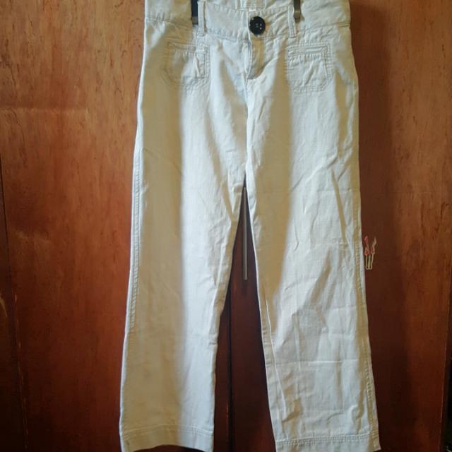 Kamiseta Straight Cut Linen Pants