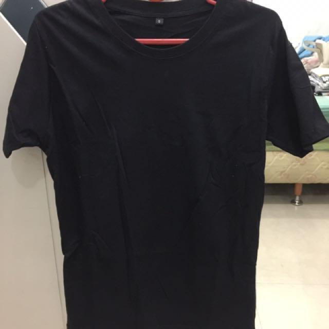 Kaos Hitam (black) Model Panjang