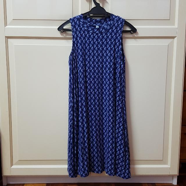 Kitschen mock neck swing dress