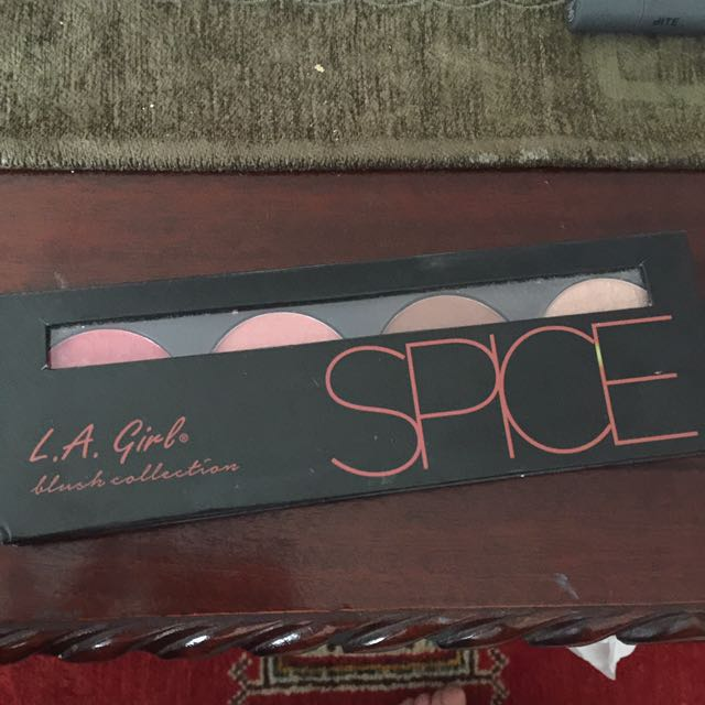 LA Girl Cheek Palette (Spice)