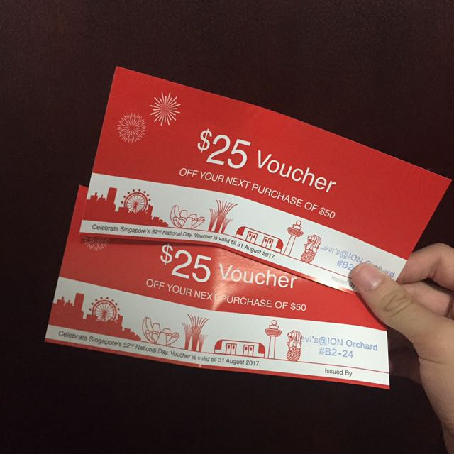 Levis voucher entertainment gift cards vouchers on carousell photo photo photo reheart Gallery